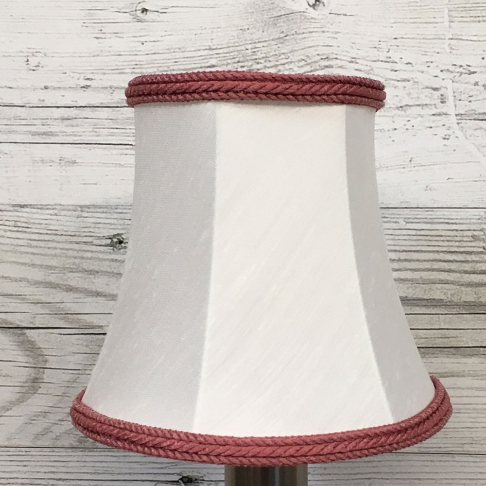 Bowed Empire Candle Shade White Imperial Lighting